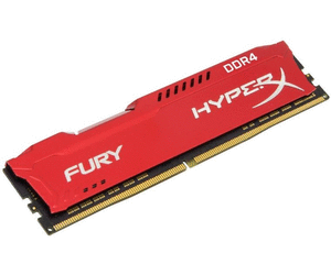 Memoria Kingston 16GB DDR4 2400MHz HyperX Fury RED (HX424C15FR/16)