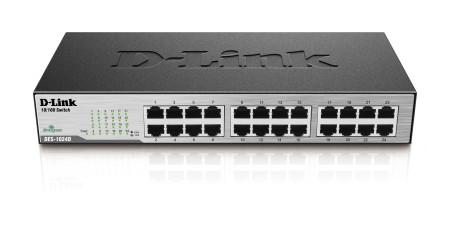 Switch D-Link 24 Portas 10/100Mbps DES-1024D