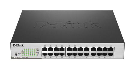 Switch D-Link EasySmart 24 Portas Gigabit DGS-1100-24