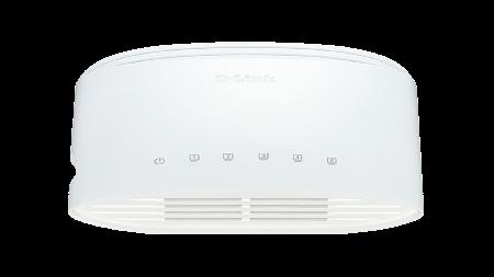 Switch D-Link Go 5 Portas Gigabit DGS-1005D