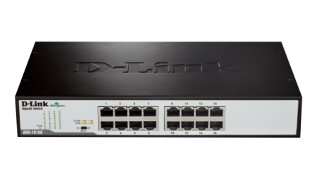 Switch D-Link Go 16 Portas Gigabit DGS-1016D