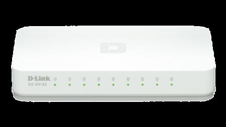 Switch D-Link Go 8 Portas 10/100Mbps GO-SW-8E