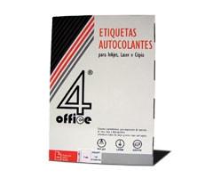 Etiquetas autocolantes 4Office 200x144 - 100 Folhas   - ONBIT