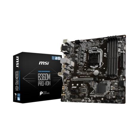 Motherboard MSI B360M Pro-VDH - sk 1151