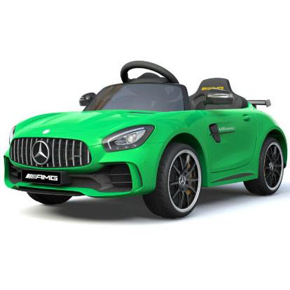 Carro Elétrico Mercedes GTR 12V Bateria c/ Comando Verde