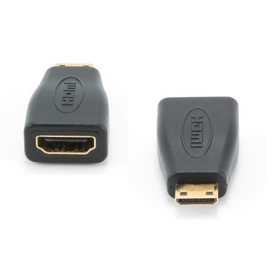 Adaptador HDMI-F p/ Mini HDMI-M 1.4 Gold Gembird