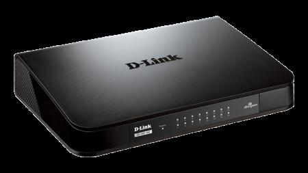 Switch D-Link Go 24 Portas 10/100/1000Mbps GO-SW-24G