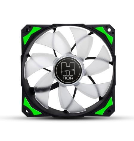 Ventoinha Nox Hummer H-fan 120 LED Green