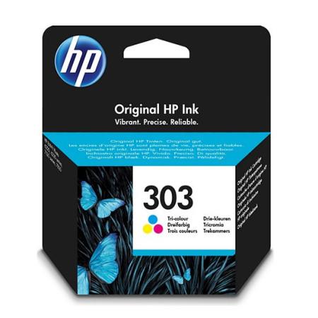 Tinteiro HP 303 Tricolor Original (T6N01AE)