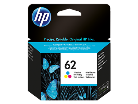 Tinteiro HP 62 Tricolor Original (C2P06AE)   - ONBIT