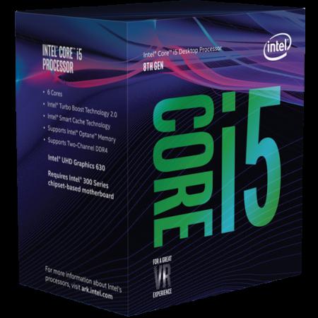 Processador Intel Core i5-8400 Hexa-Core 2.8GHz c/ Turbo 4.0GHz 9MB Skt 1151