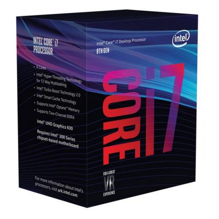 Processador Intel Core i7-9700K Octa-Core 3.6GHz c/ Turbo 4.9GHz 12MB Skt 1151
