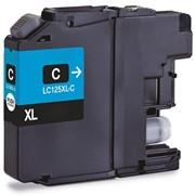 Tinteiro Brother Compatível LC125XL (V3) azul