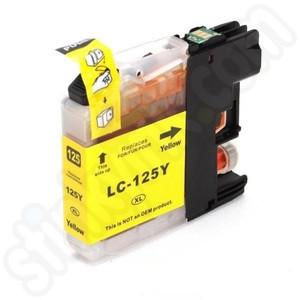 Tinteiro Brother Compatível LC125XL (V3) amarelo   - ONBIT