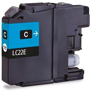 Tinteiro Brother Compatível LC22E XL Azul