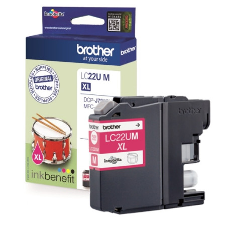 Tinteiro Brother Original LC22U M Magenta (LC22UMBP)