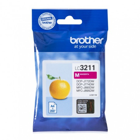 Tinteiro Brother Original LC3211M Magenta