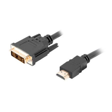 Cabo Conversor HDMI (M) para DVI-D (M) (18+1) 0,5 Metros Gembird