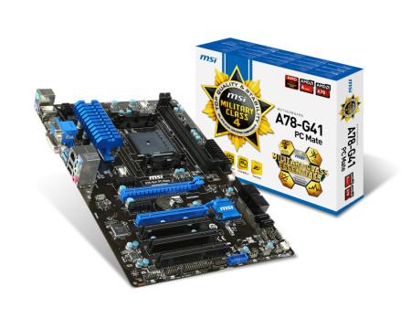 MSI A78-G41 PC Mate - sk FM2/FM2+   - ONBIT