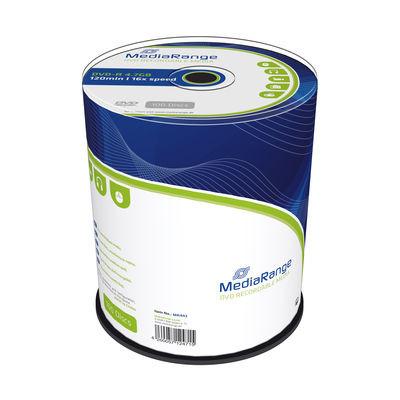 DVD-R Mediarange 16x - Pack 100  MR442 - ONBIT