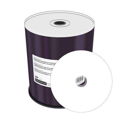 CD-R Linha Profissional Mediarange Transfer Térmico Branco 52x - Pack 100  MRPL503-M - ONBIT