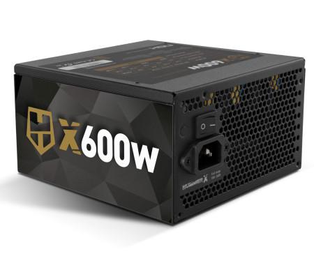 Fonte Nox Hummer X Semi Modular 80+ Plus Bronze x600W