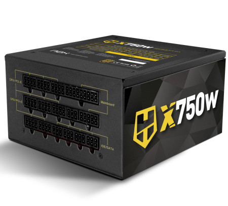Fonte Nox Hummer X Modular 80+ Plus GOLD x750W
