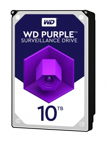 Disco Rígido Western Digital Purple 10TB 3.5´ 256MB Cache (WD100PURZ)