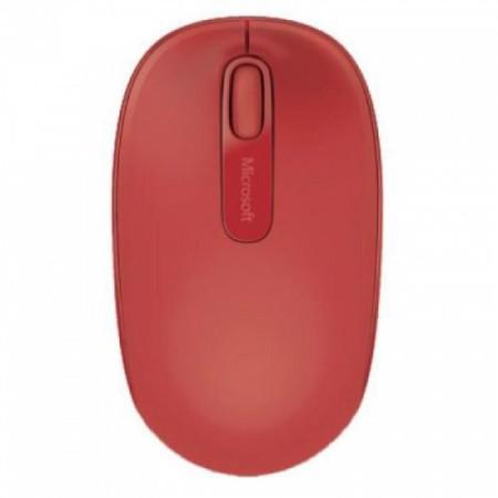 Rato Microsoft Sem Fios Mobile 1850 Vermelho