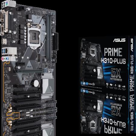 Motherboard Asus PRIME H310-PLUS - sk 1151