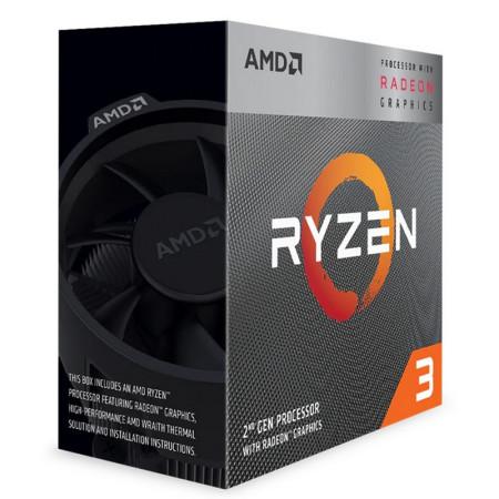 Processador AMD Ryzen 3 3200G Quad-Core 3.6GHz c/ Turbo 3.9GHz 6MB Skt AM4