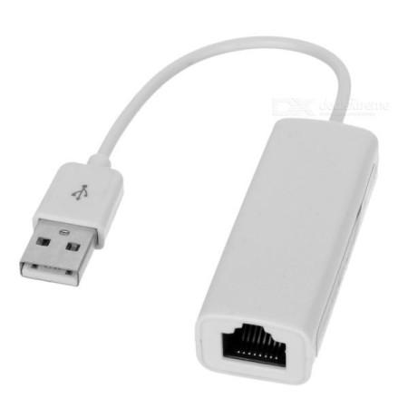 Adaptador de Rede USB2.0 p/ RJ45 10/100Mbps branco Gembird