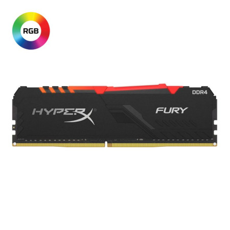 Memoria Kingston 16GB DDR4 2666MHz HyperX Fury RGB (HX426C16FB3A/16)