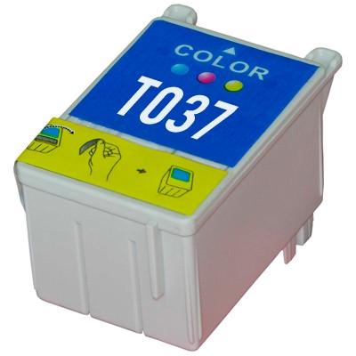 Tinteiro Epson Compatível T037 - Cor