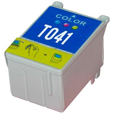 Tinteiro Epson Compatível T041 - Cor