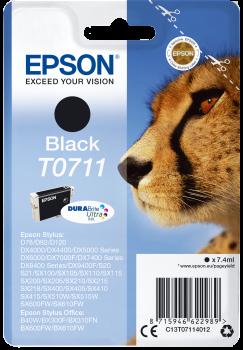 Tinteiro Epson T0711 Preto Original Série Chita (C13T07114012)