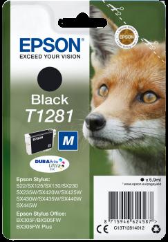 Tinteiro Epson T1281 Preto Original Série Raposa (C13T12814012)