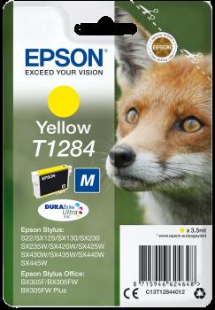 Tinteiro Epson T1284 Azul Original Série Raposa (C13T12844012)