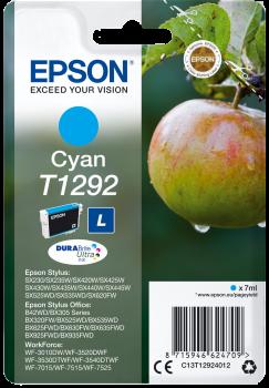 Tinteiro Epson T1292 Azul Original Série Maça (C13T12924012)