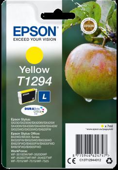 Tinteiro Epson T1294 Amarelo Original Série Maça (C13T12944012)