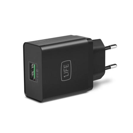Carregador USB Quick Charge 1Life pa:USB