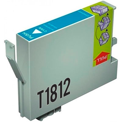 Tinteiro Epson Compatível 18 XL, T1812 azul