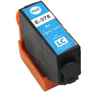 Tinteiro Epson Compatível 378 XL - T3795 / T3785 Azul Claro