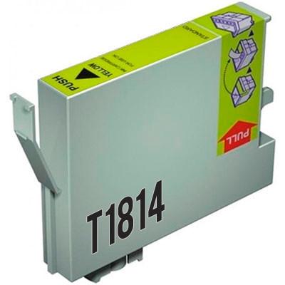 Tinteiro Epson Compatível 18 XL, T1814 amarelo