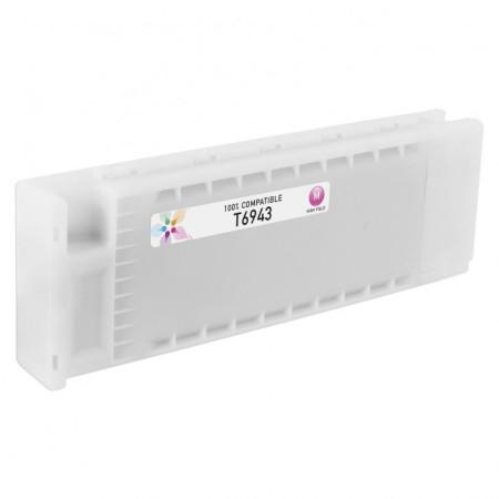 Tinteiro Epson Compatível T6943 / T6923 / T6933 Magenta