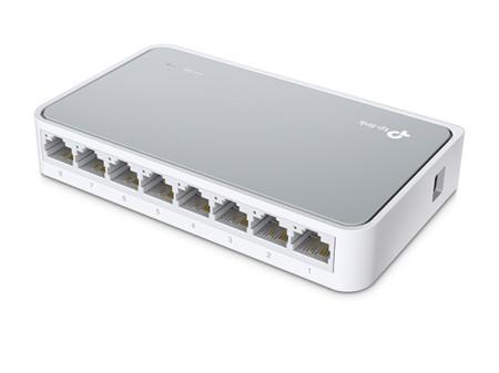 Switch 8 Portas TP-Link 10/100 TL-SF1008D