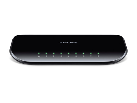 Switch Gigabit 8 Portas TP-Link 10/100/1000 TL-SG1008D   - ONBIT