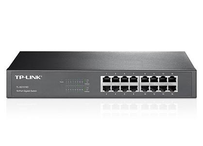 Switch Gigabit de 16 portas TP-Link TL-SG1016D
