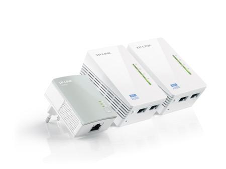 Powerline TP-Link 300Mbps AV500 WiFi Extender Starter Kit TL-WPA4220T KIT