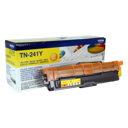 Toner Brother Original TN-241 Y Amarelo